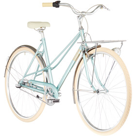 Creme Caferacer Uno Trapeze 3-speed, florida green